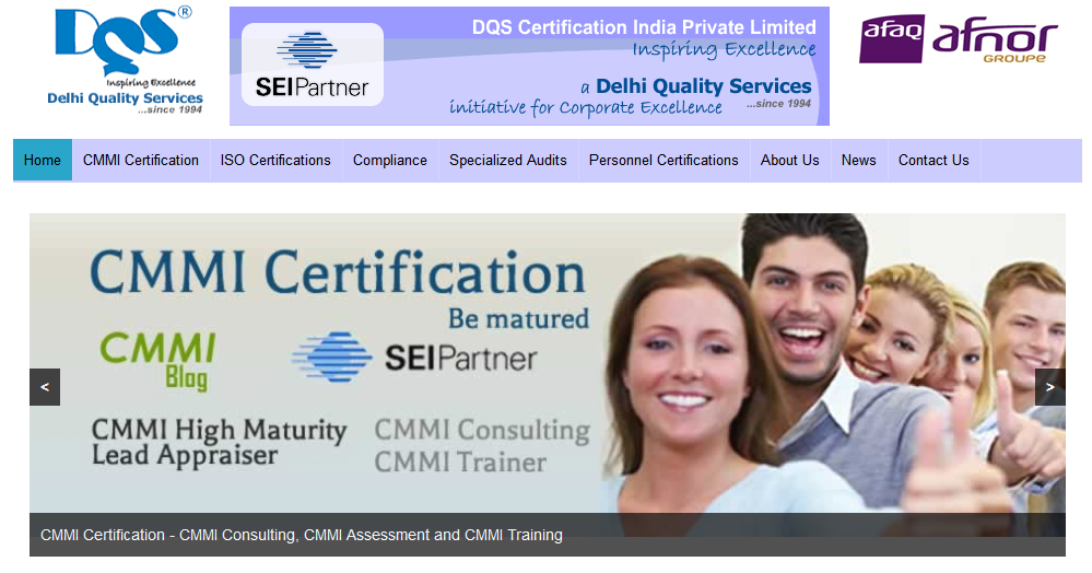 DQS India.com new website