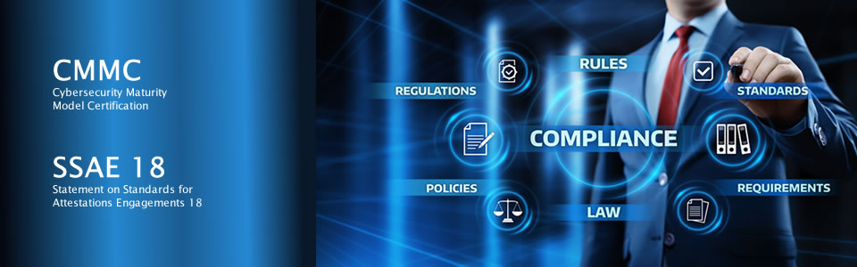 compliance services - cmmc, ssae18